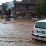 Злива в Афинах