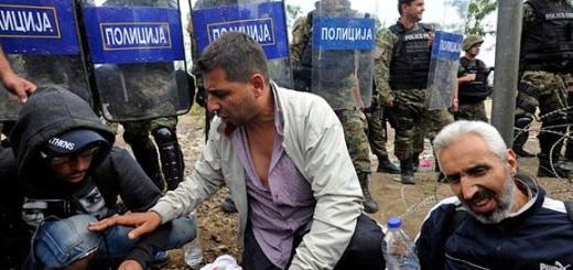 Сотні мігрантів увірвалися в Македонію