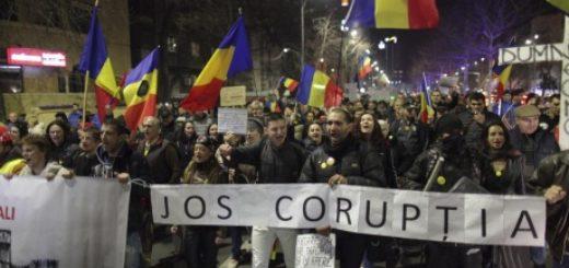 У Румунії тисячі людей вийшли на марш на підтримку антикорупційних заходів