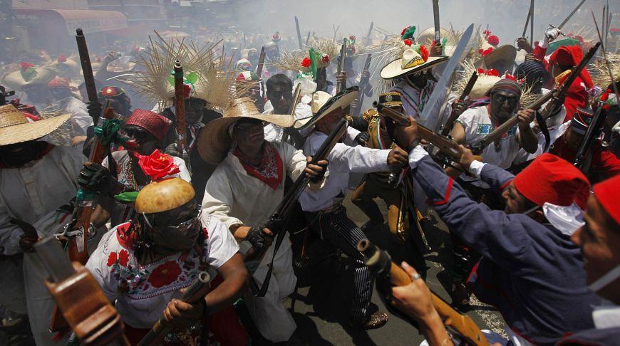 День перемоги над французами Cinco de Mayo в Денвері