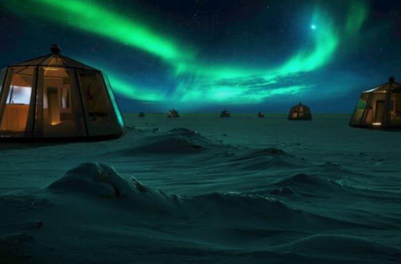 На Північному Полюсі відкриють готель